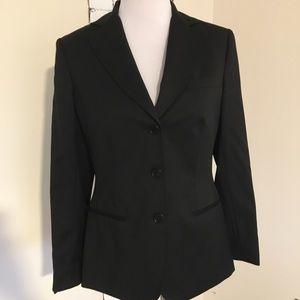 Brooks Brothers Black Wool Blazer Three-button 8